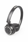 Wireless headphones isolated Royalty Free Stock Photo
