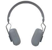 Wireless headphones isolated on white background Royalty Free Stock Photos