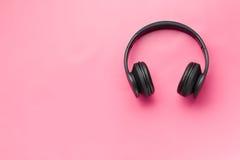 Wireless headphones Stock Image