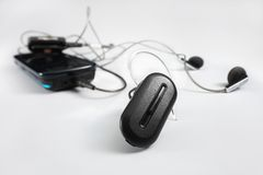 Wireless headset Royalty Free Stock Image