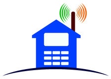 Wireless home Royalty Free Stock Photography