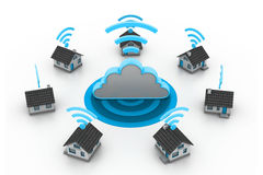 Wireless Home connection Royalty Free Stock Photos