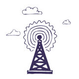 Wireless icon Royalty Free Stock Image