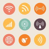 Wireless icon  illustration Stock Images