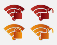 Wireless icon Royalty Free Stock Photo