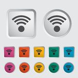 Wireless icon. Royalty Free Stock Photos