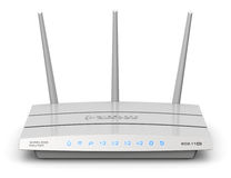 Wireless internet router Stock Photography