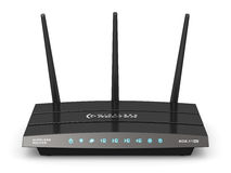 Wireless internet router Royalty Free Stock Photo