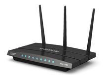 Wireless internet router Stock Photos