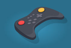 Wireless Joystick or Video Game Controller Icon Royalty Free Stock Photography