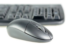Wireless keyboard and mouse royalty free stock image