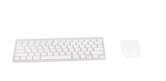 Wireless keyboard and mouse Stock Photography