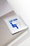 Wireless LAN zone Stock Image