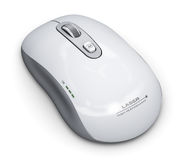Wireless laser computer mouse Royalty Free Stock Image