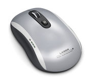 Wireless laser computer mouse Stock Photography