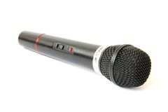 Wireless microphone Stock Images