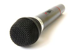 Wireless microphone Royalty Free Stock Image
