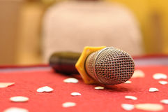 Wireless Microphone Close Up Stock Photography