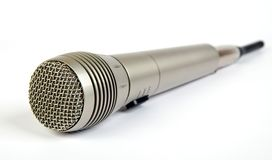 Wireless microphone on white background Stock Photography