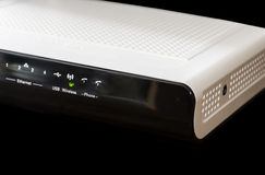 Wireless Modem & Router Royalty Free Stock Image