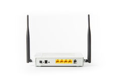 Wireless modem router network hub Stock Images