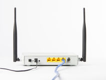 Wireless modem router network hub Royalty Free Stock Photos