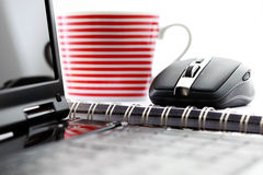 Wireless mouse Stock Photography