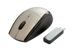 Free Wireless Mouse Royalty Free Stock Photography - 15453887