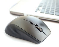Wireless mouse Royalty Free Stock Image
