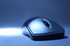Wireless mouse. Macro of stylish wireless mouse Stock Photo