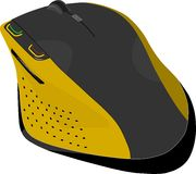 Wireless mouse Stock Image