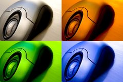 Wireless Mouse Pack Stock Photos