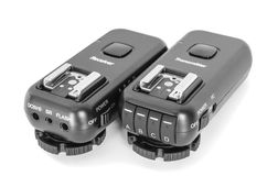 Wireless Multichannel Radio Trigger Set Stock Images