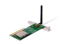 Wireless Network Adapter Royalty Free Stock Photography