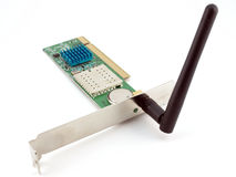 Wireless network card Stock Image