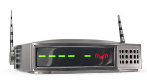 Wireless network router Royalty Free Stock Photo