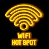 Wireless Network Symbol Concept Stock Image