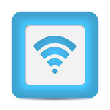 Wireless Network Symbol (Wifi). Vector Royalty Free Stock Images