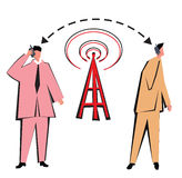 Wireless Networking Royalty Free Stock Images