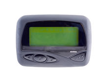 Wireless Pager 2 Blank Screen Royalty Free Stock Photo