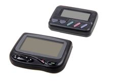 Wireless pagers. Stock Photography