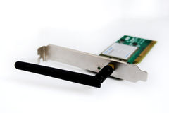Wireless pci card - wlan Royalty Free Stock Photography