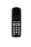 Wireless phone set isolated over white Stock Image