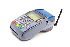 Wireless POS-terminal Royalty Free Stock Photo