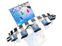 Wireless Presentation Stock Image