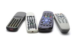 Wireless remote controllers Stock Photography