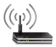 Wireless Router Royalty Free Stock Photo