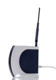 Wireless router. On white background Stock Photos