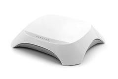 Wireless router. On white background Stock Photo