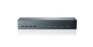 Wireless router on a white background Stock Photos